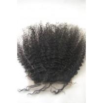 Afro kinky (kinky curl) - top/lace closures - maatwerk