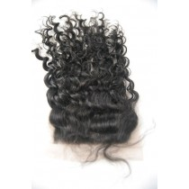 12 until 18 inch Indian remy - top/lace closures - curly - hair color 1B - available immediatly