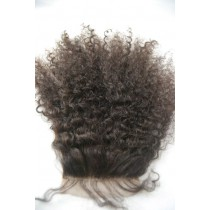 12 until 18 inch Indian remy - top/lace closures - afro kinky (kinky curl) - hair color 2 - available immediatly