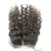 12 until 18 inch Indian remy - top/lace closures - curly - hair color 2 - available immediatly