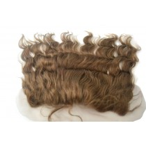 12 t/m 18 inch Indian remy  - lace frontals - wavy - haarkleur 4 - direct leverbaar