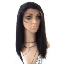 Silky straight - front lace wigs - maatwerk