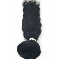 12 t/m 24 inch - Braziliaans haar - wavy - haarkleur 1 - direct leverbaar