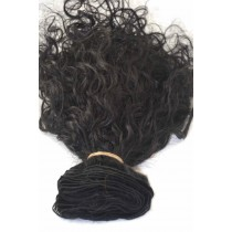 12 until 24 inch - Brazilian hair - curly - hair color 1 - available immediatly