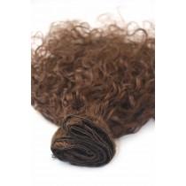 12 t/m 24 inch - Braziliaans haar - curly - haarkleur 3 - direct leverbaar