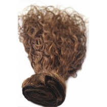 16 & 24 inch - Brazilian hair - curly - hair color 4 - available immediatly