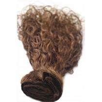 16 & 24 inch - Brazilian hair - curly - hair color 4 - available immediatly