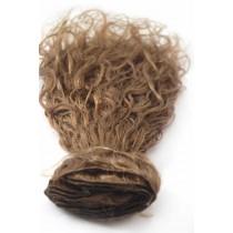 16 & 24 inch - Braziliaans haar - curly - haarkleur 6 - direct leverbaar