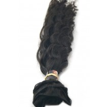10 until 24 inch - Brazilian hair - wavy - natural color - available immediatly
