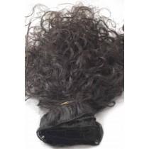 10 t/m 24 inch - Braziliaans haar - curly - natuurlijke kleur - direct leverbaar