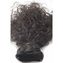 10 until 24 inch - Brazilian hair - curly - natural color - available immediatly