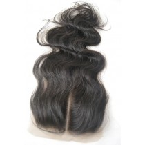 12 until 18 inch Peruvian virgin - top/lace closures - wavy - natural color - available immediatly