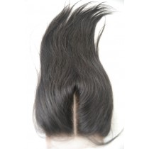 12 until 18 inch Peruvian virgin - top/lace closures - straight - natural color - available immediatly