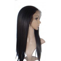 Yaki straight - front lace wigs - custom made