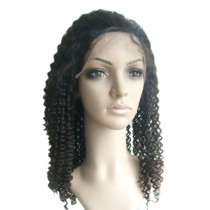 Jerry curl - full lace wigs - custom made