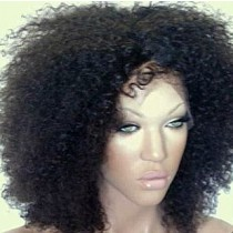 Afro kinky (Kinky curl) - front lace wigs - custom made