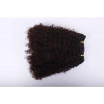 Afro kinky (kinky curl) - machine made weaves - custom made