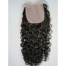 Curly - top/lace closures - custom made
