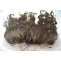 12 until 18 inch Indian remy - lace frontals - wavy - hair color 3 - available immediatly