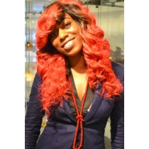 Handmade wig 13 - straight - exclusive - custom made