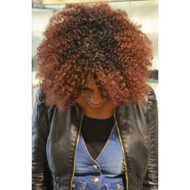 Handmade wig 6 - afro kinky (kinky curl) - exclusive - custom made