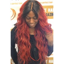 Handmade wig 1 - straight - exclusive - custom made