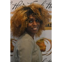 Handmade wig 8 - afro kinky (kinky curl) - exclusive - custom made