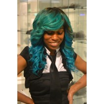 Handmade wig 7 - straight - exclusive - custom made