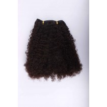 Afro kinky (kinky curl) - Wire extensions - custom made