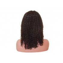 Indian remy - front lace wigs - jerry curl - in stock