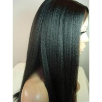Kinky straight - full lace wigs - custom made