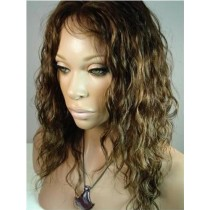 Loose curl - front lace wigs - custom made