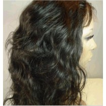 Indian remy - full lace wigs - loose wave - in stock