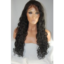 Indian remy - front lace wigs - loose wave - in stock