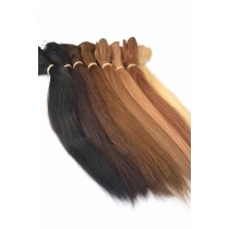 Straight - handtied weaves - custom made