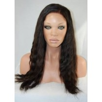Natural wave - front lace wigs - custom made