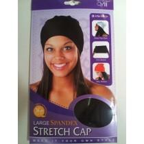 Spandex cap