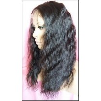 Super wave - synthetic front lace wigs - custom made