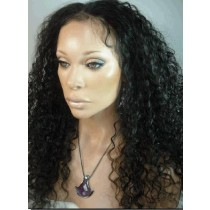 Indian remy - front lace wigs - water wave - op voorraad