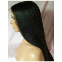 Indian remy - front lace wigs - yaki straight - in stock