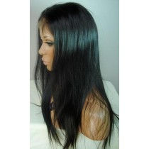 Indian remy - full lace wigs - light yaki - in stock